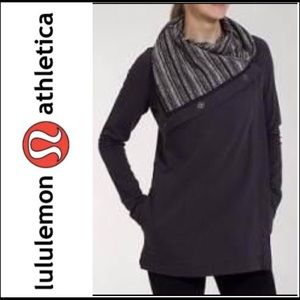 Lululemon Savasana Charcoal Wrap